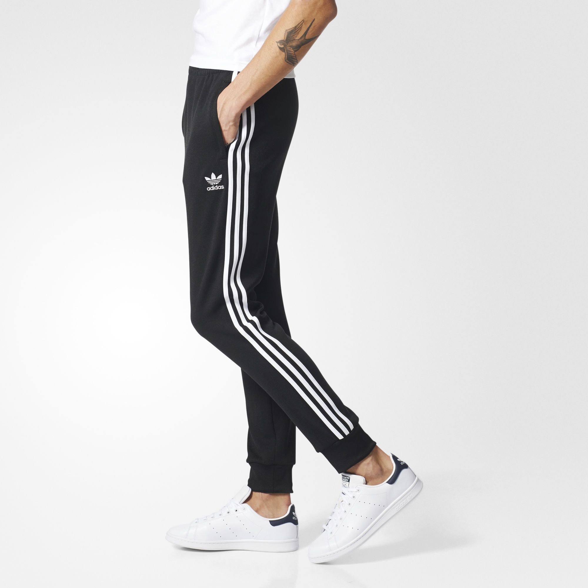 860951b21bf4 adidas - Superstar Cuffed Track Pants