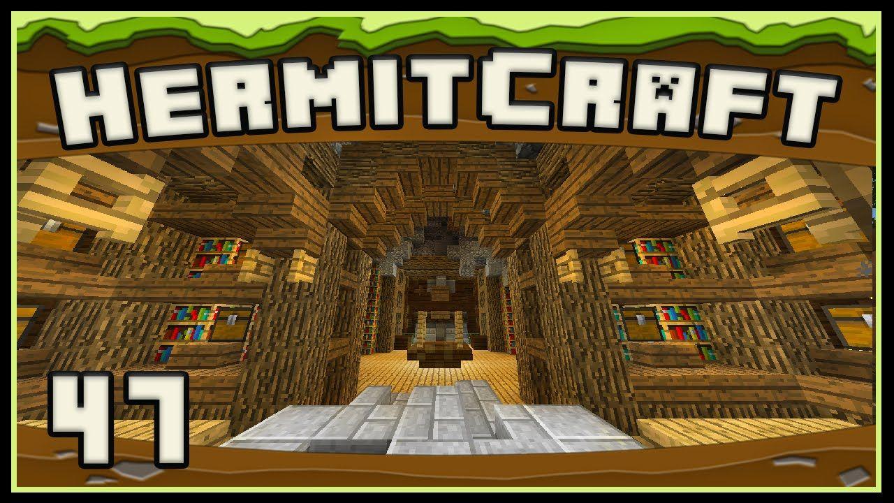 Hermitcraft 4 Minecraft Building An Enchanted Book Storage Room Book Storage Enchanted Book Minecraft Enchantments