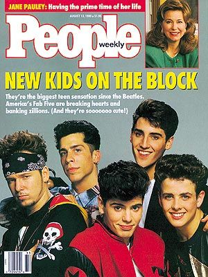 I Totally Have This Tucked Away In My Big Nkotb Rubbermaid Tub New Kids On The Block New Kids People Magazine Covers