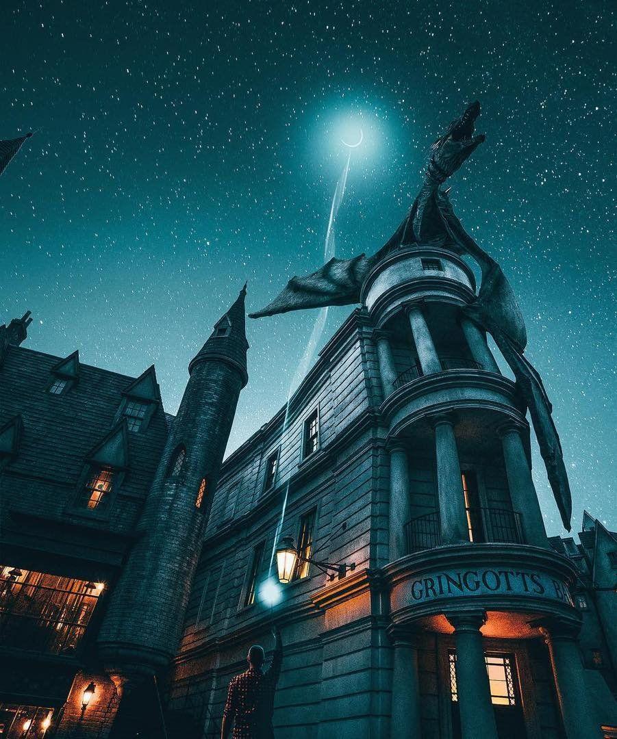 Gringotts Bank Harry Potter Harrypotter Magic