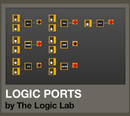 Click for the free online Logic simulator \
