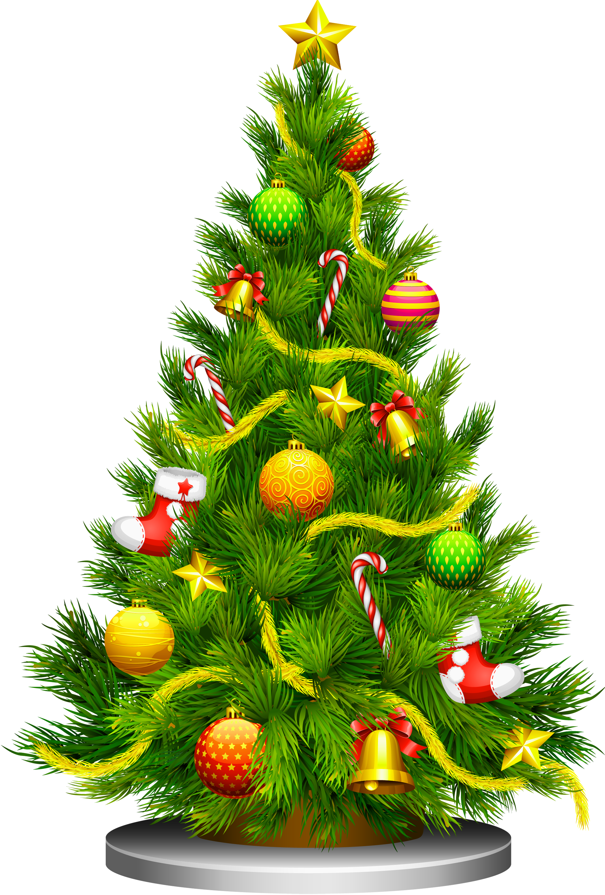 Christmas Tree Free Large Images Christmas Tree Clipart Christmas Tree With Presents Christmas Tree Images