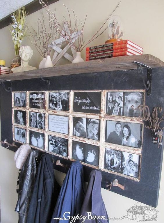 Creative Photo Frame Display Ideas | DIY and crafts