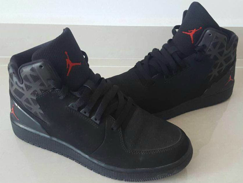 9c6764f66b8310 Nike Air Jordan 100% Authentic Original Flight Women s Girls Shoes Black US  8  NikeJordan  Trainers