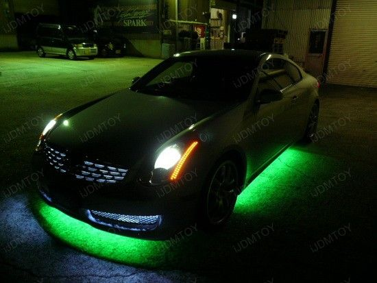 Todayu0027s Favorite Is This 2005 Infiniti With LED Underbody Light. This Under  Car LED Kit Gives The Ride A Head Turning Glow, Which Makes The Car Stand  Out