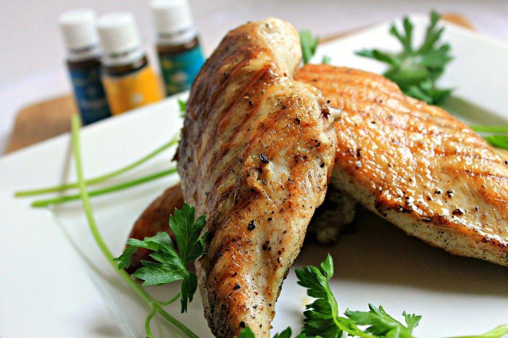 lemon oregano chicken..do not marinate chicken in a