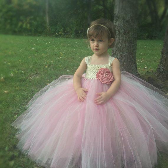 Niñas Tutu vestido vestido de niña de las flores tutú de la