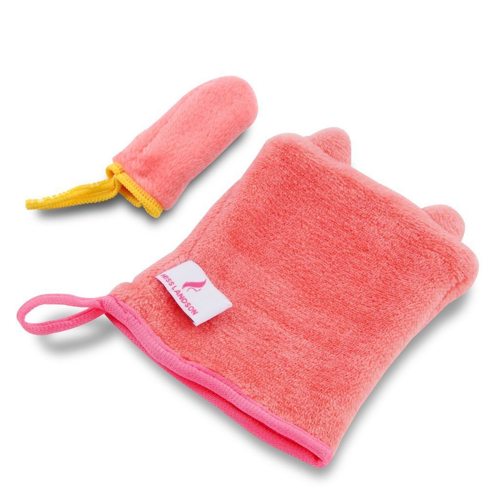 Makeup Remover Mitt with Just Water Remove Make up off