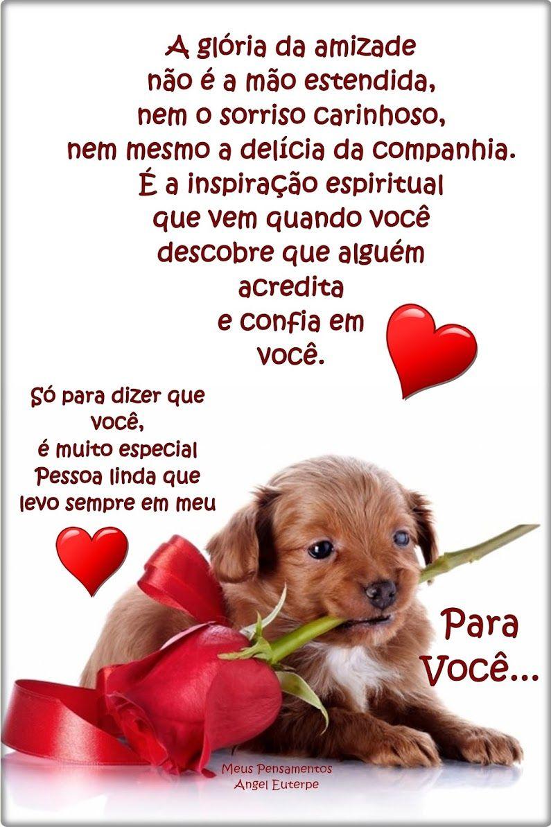 Pin De Ana Elizabeth Da Silva Em Mensagens Mensagem De Amizade