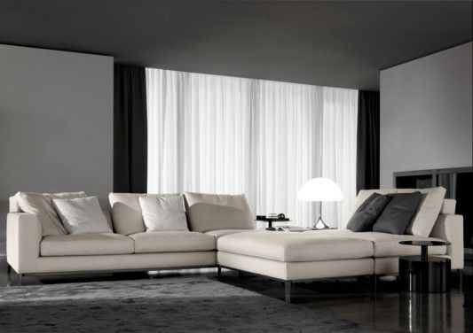Attractive Luxurious Living Room Concept With Andersen Sofa And