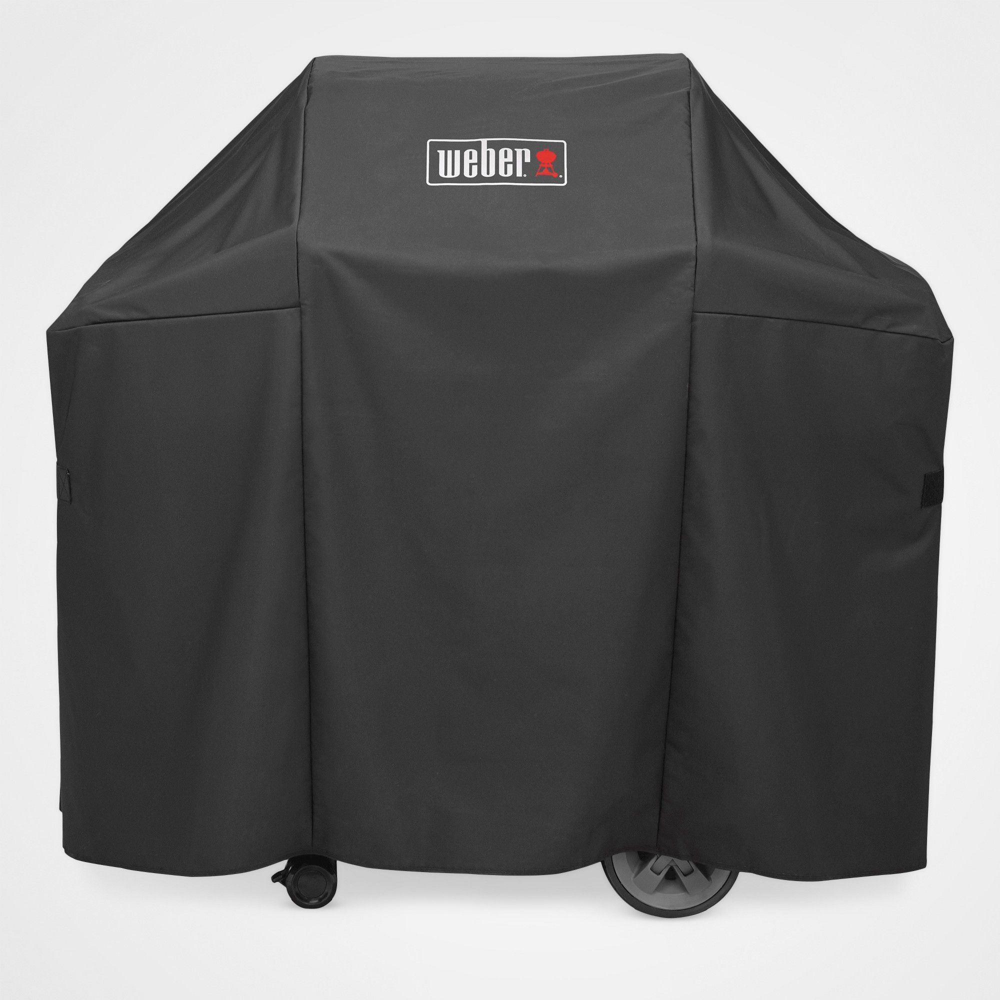 Weber Genesis Ii 2 Burner Premium Cover Black Weber Grill Cover Gas Grill Covers Grilling