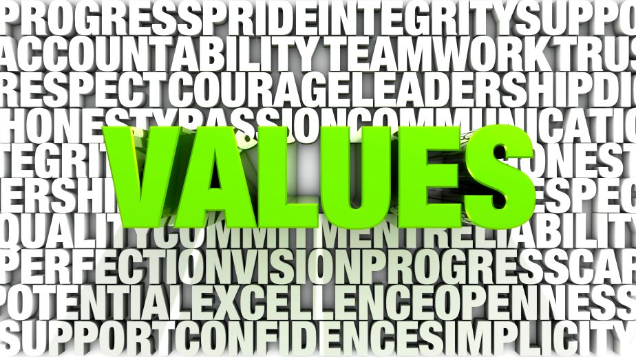 VALUES & ACTION What does is mean to be in a valuesbased