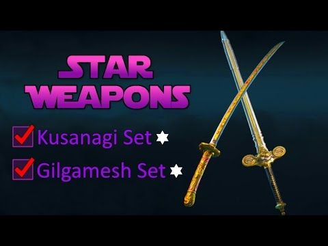 Unique Star Weapons - Full Sets of Orochi & Warden | For Honor