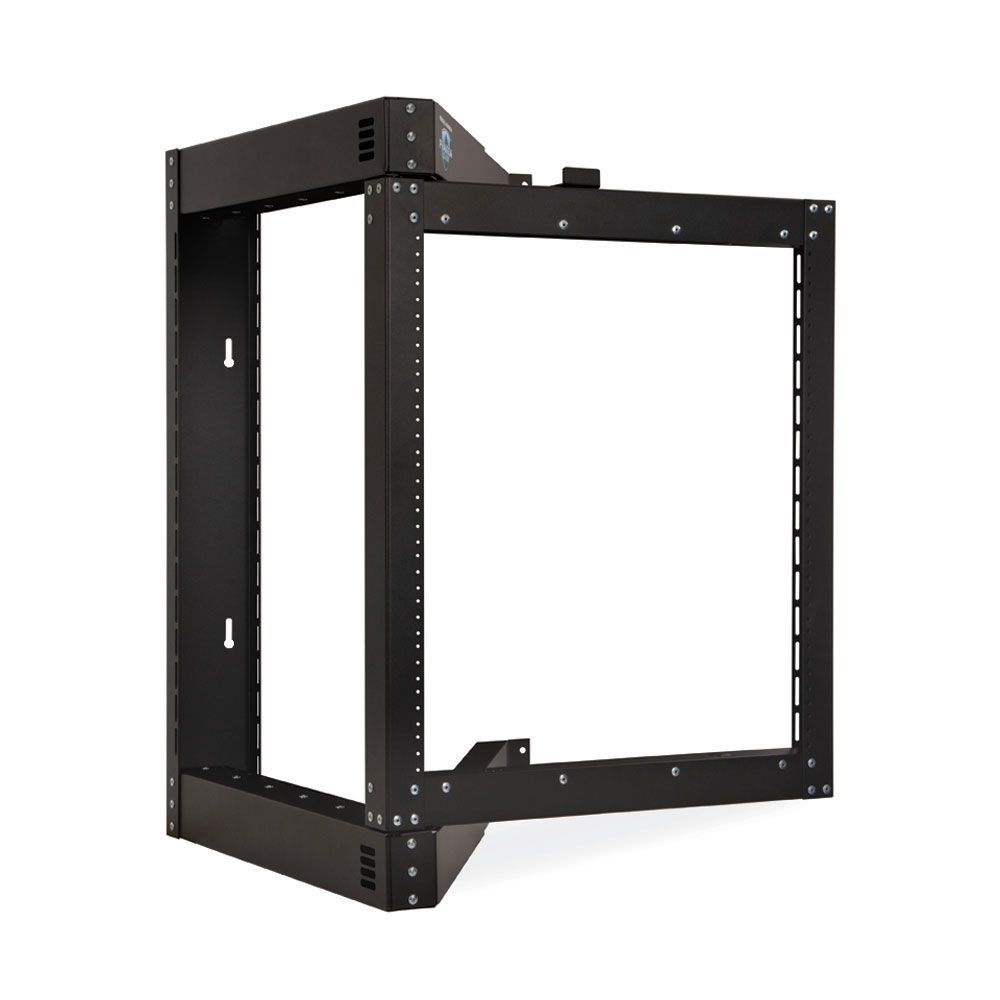 12u Phantom Class Open Frame Swing Out Rack Wall Mount Rack Open Frame Patch Panels