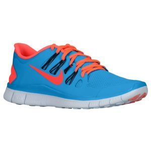 timeless design 6d132 44ab1 Nike Free 5.0+ - Men s - Blue Hero Black Blue Tint Atomic Red