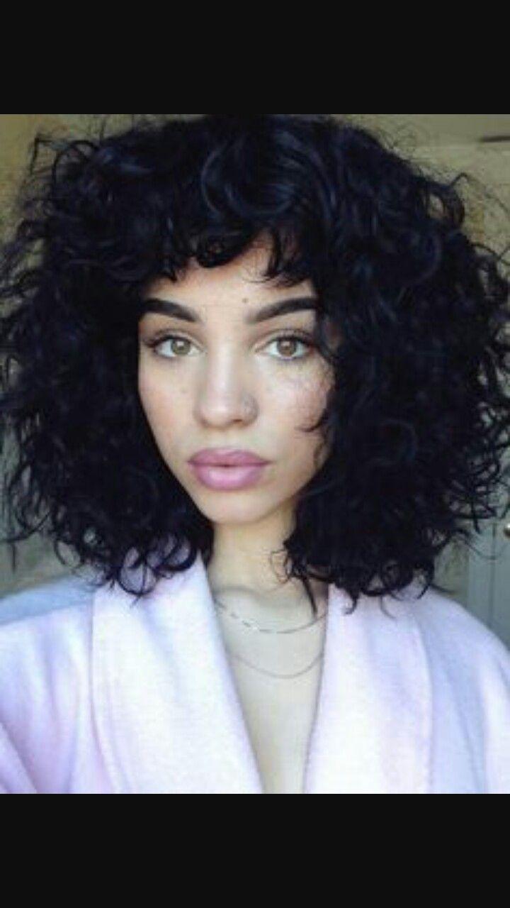 Mixedgirl beautiful afro curlyhair naturalmakeup staying clean
