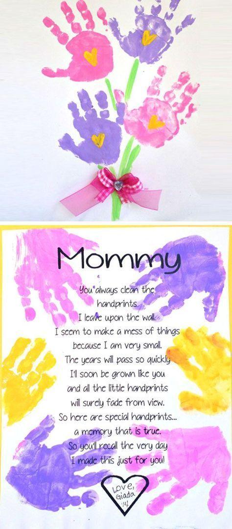 Printable Handprint Mothers Day Poem