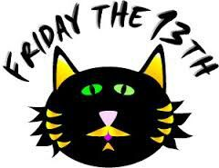 friday the 13th purrfectly lucky fri the 13th pinterest rh pinterest co uk friday the 13th mask clipart friday the 13th mask clipart
