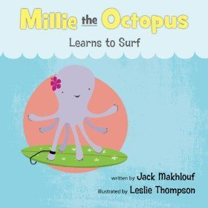Millie the Octopus Learns to Surf