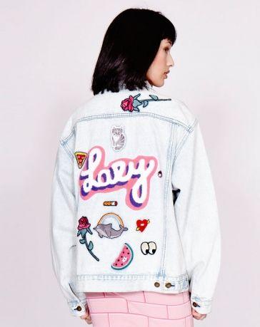 Lazy Oaf My Collection Denim Jacket.