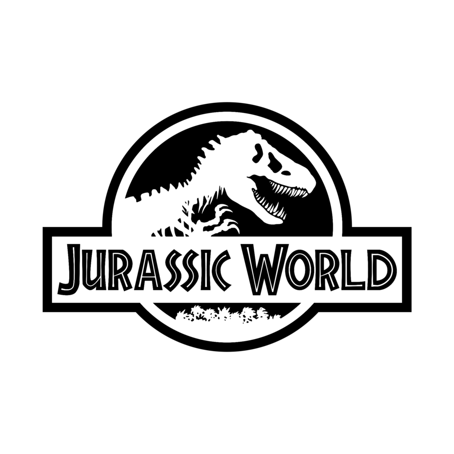 Jurassic World (Black Transparent Logo) by Jaybo21