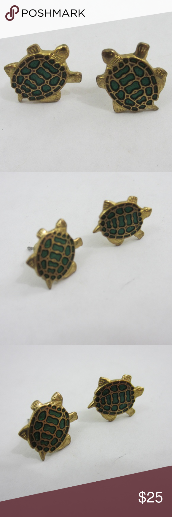 silver img animal dotoly earrings stud sterling products original in thumbnail turtle sea