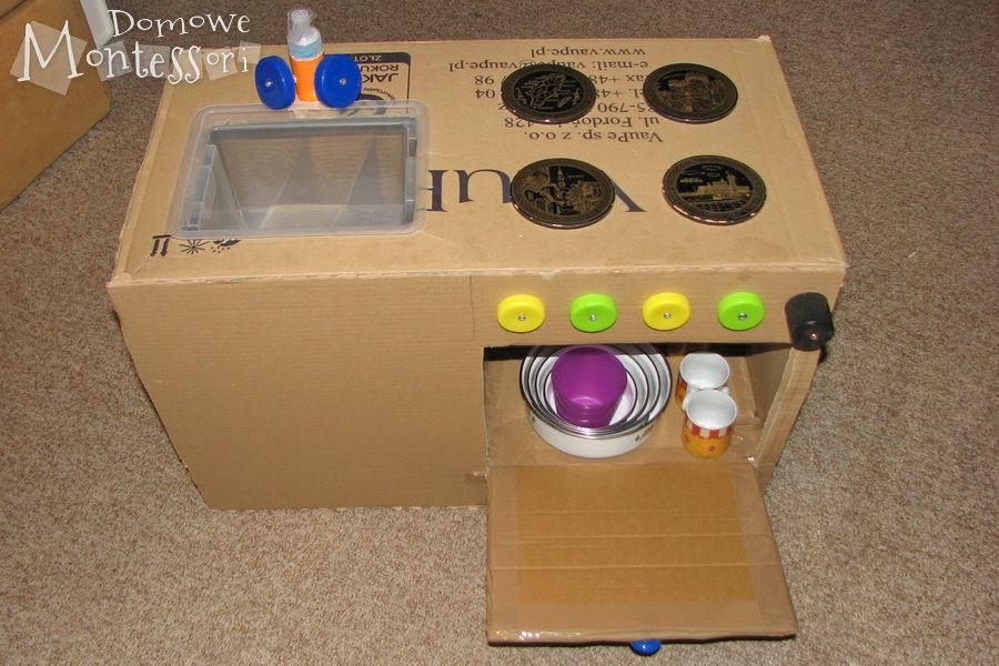 Kuchenka Dla Dziecka Zrob To Sam Domowe Montessori Kids Toys Toys Kids