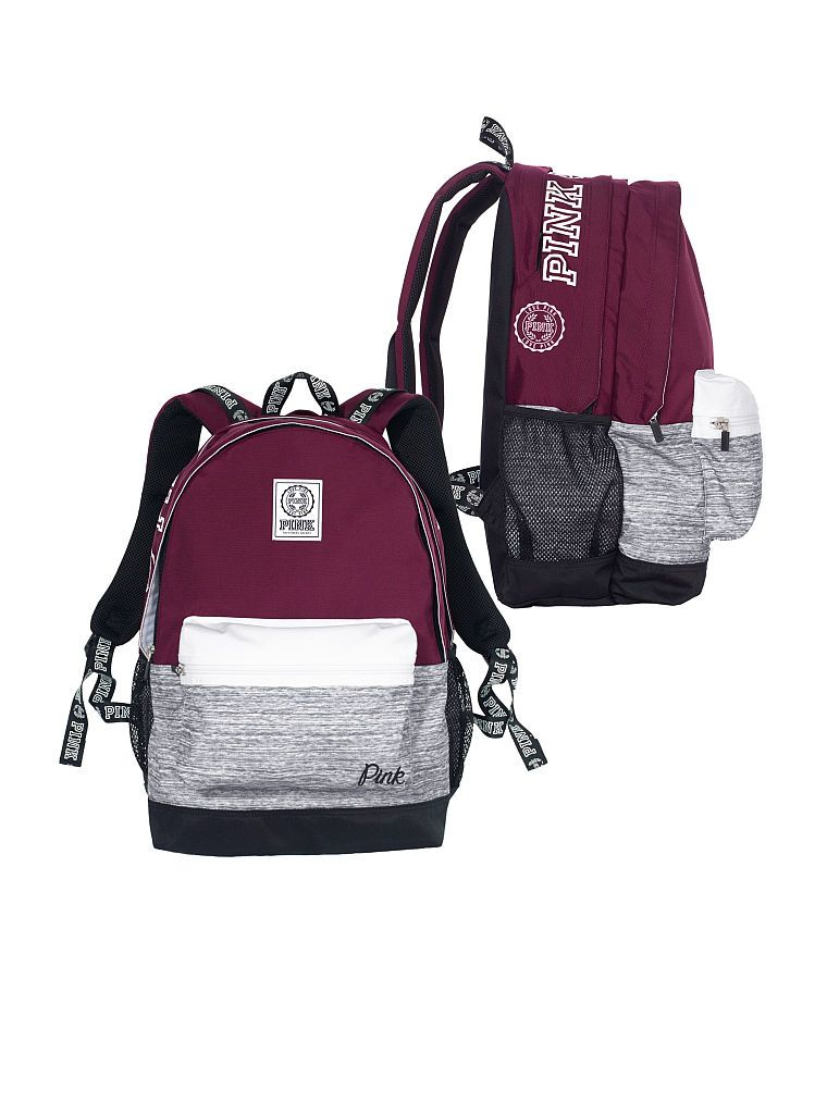 Campus Backpack - PINK - Victoria's Secret | V.S | Pinterest ...