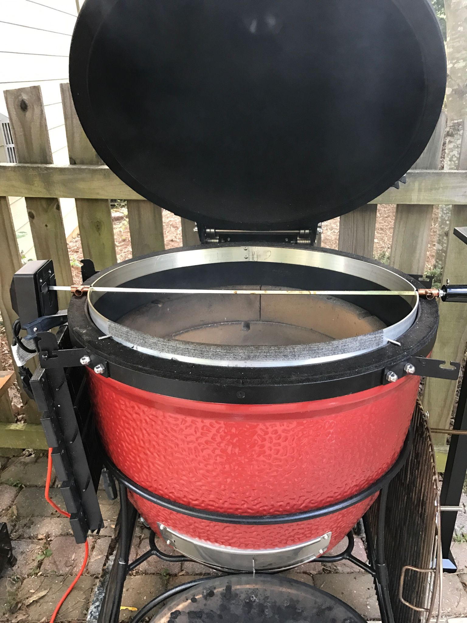 Bbq Guru Party Q Bootleg Joetisserie Do It Yourself Kamado Guru Bbq In 2019