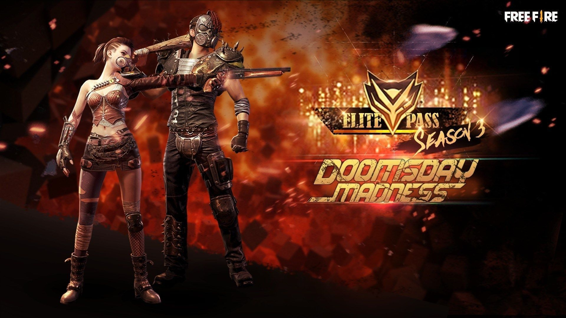 Free Fire Season 3 Elite Pass Pc Wallpaper In 2021 Attack On Titan Season Fire Image Shadowhunters Tv Show