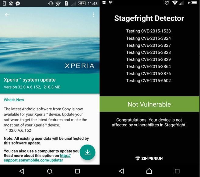 Xperia Z5 and Z5 Compact getting new firmware 32 0 A 6 152 with