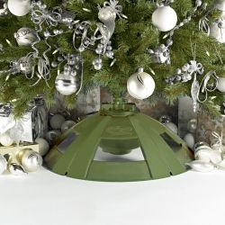 A Rotating Christmas Tree Stand will make your Christmas Tree look ...