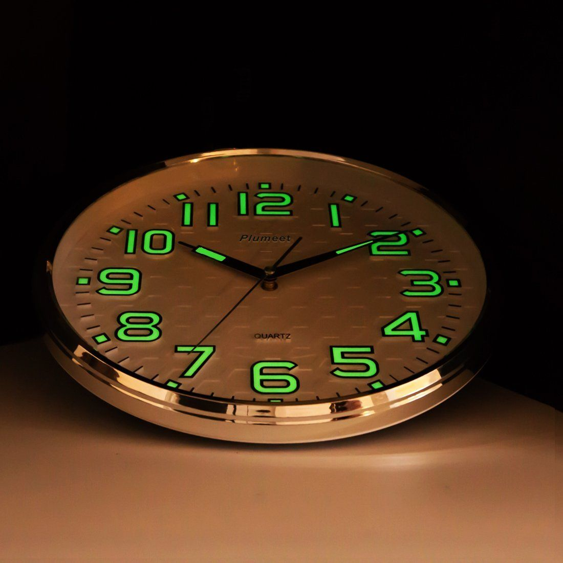 Robot Check Wall Clock Clock Wall Clock Light