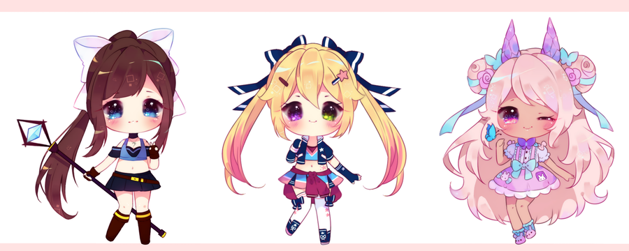 batch 2 [simple chibi commission] by Antay6009 (With