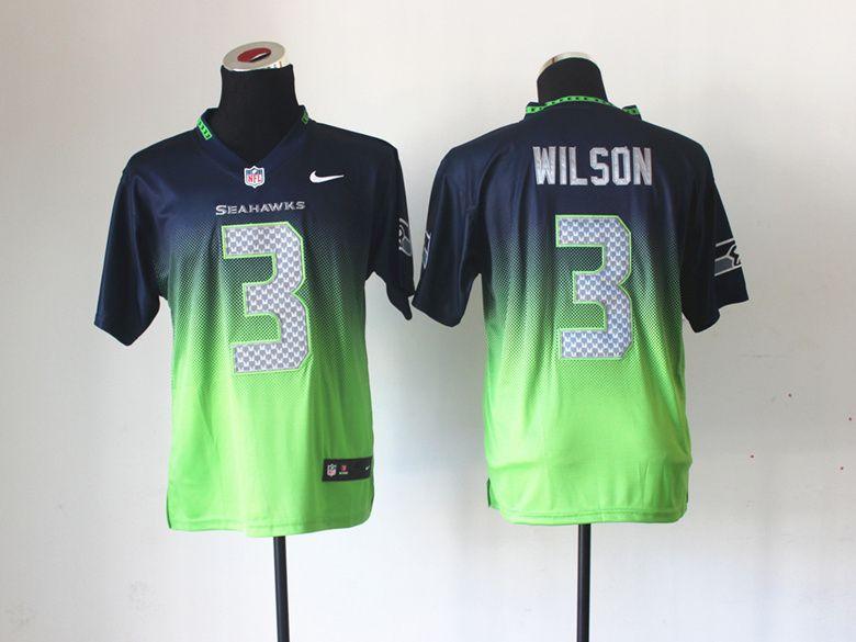 Seattle Seahawks 11 Percy Harvin Elite Alternate Gray Jersey