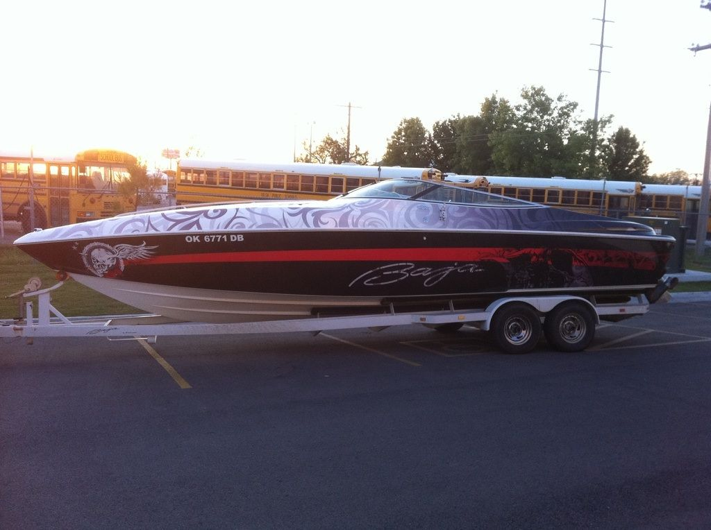 Best Boat Wraps And Random Stuff Images On Pinterest - Baja boat decals   easy removal