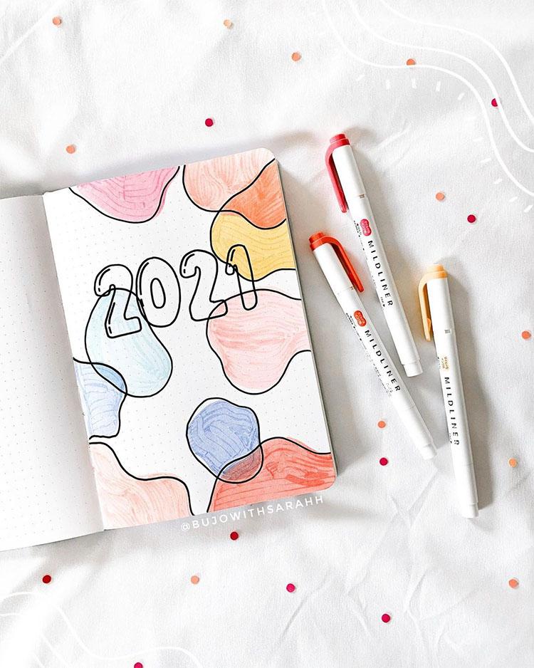 25 January Bullet Journal Ideas for 2021 - 25 Janu