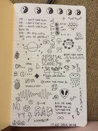 Resultado De Imagen Para Dibujos Pequenos Tumblr Collage Dibujos