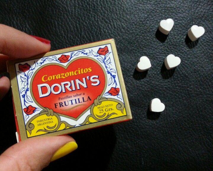 Dorins pastillas de corazones