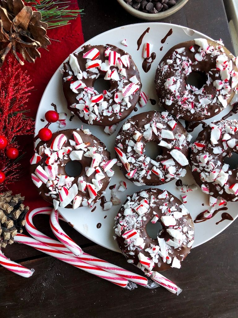 Peppermint Chocolate Donuts – Choosing Balance