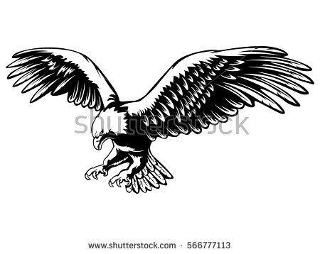 Eagle Vector Clip Art Free American Symbols Tattoo Eagle And