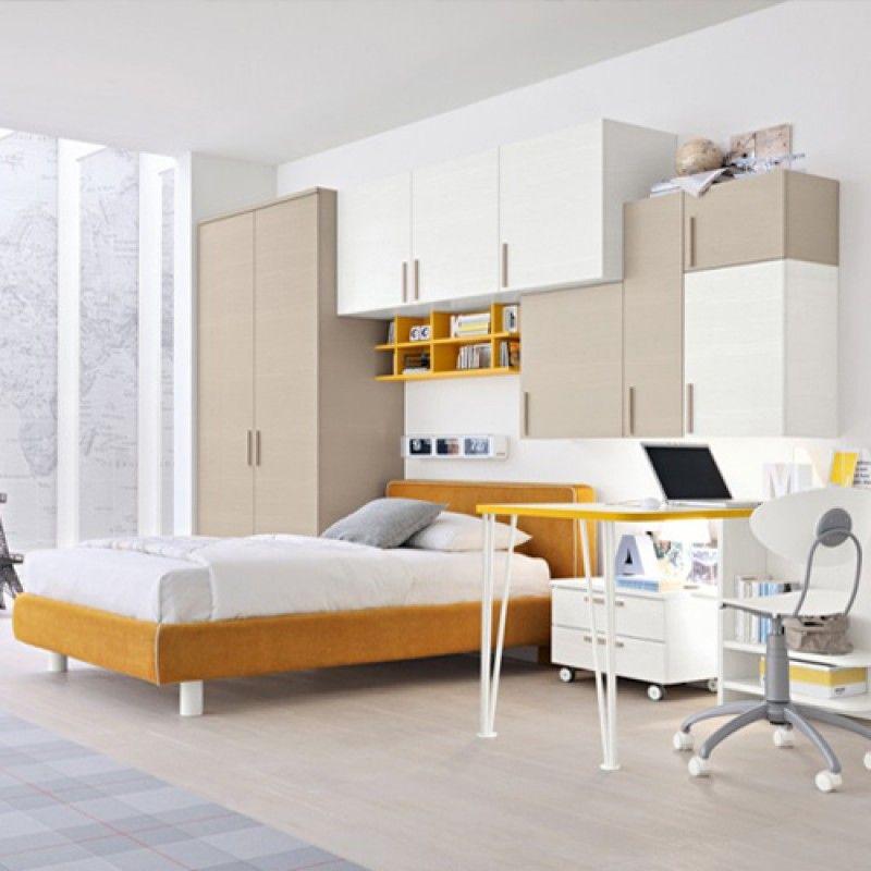 Modern Teenager Bedroom Comp Y 001 Dum