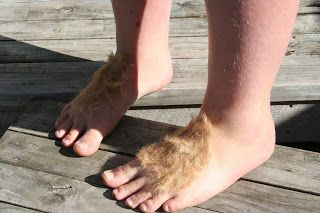 How to create Hobbit Feet.