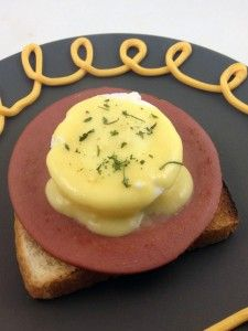 The Poor Man's Eggs Benedict