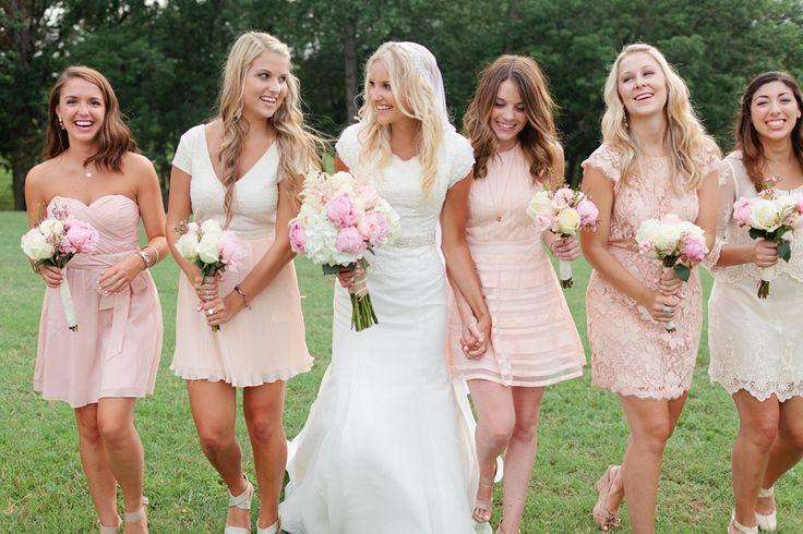 Petal Pink Bridesmaid Dress