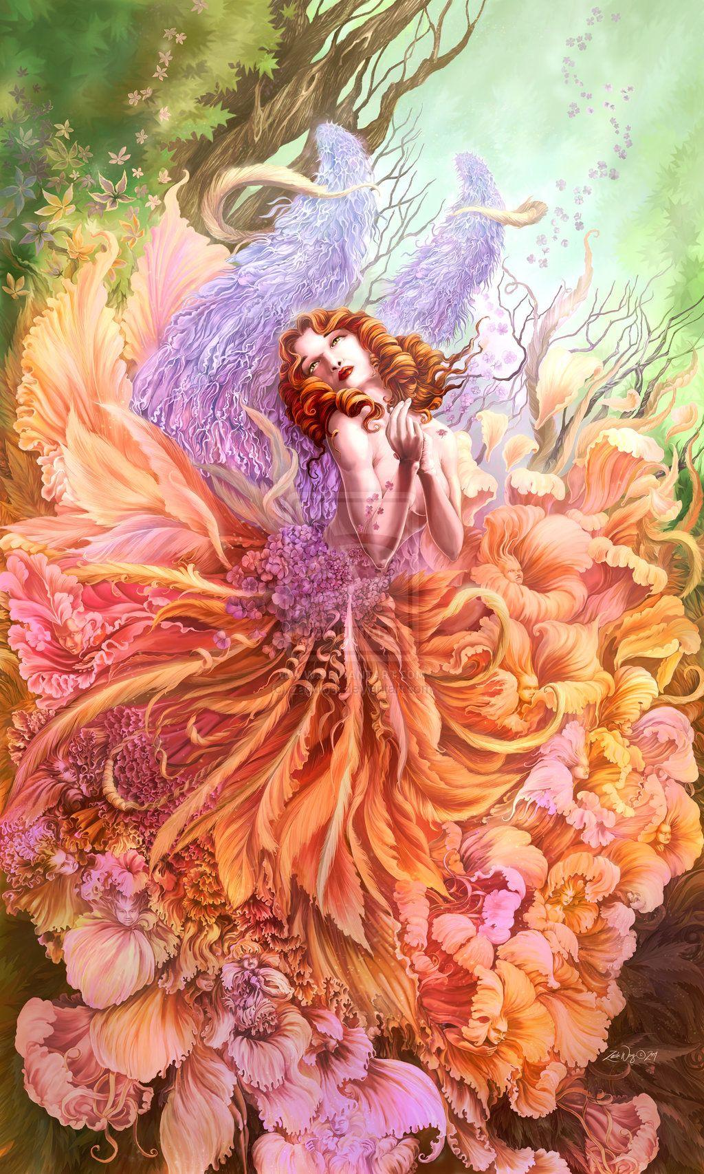 Beautiful Fairy   Fairies...magical creatures   Pinterest ...