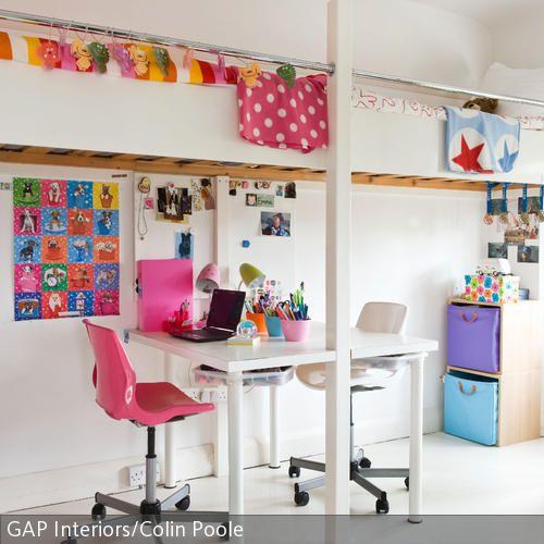 modernes kinderzimmer mit bunten accessoires kids rooms. Black Bedroom Furniture Sets. Home Design Ideas