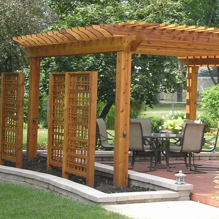 Pergola Ideas For Small Backyards #PergolaForHotTub ...
