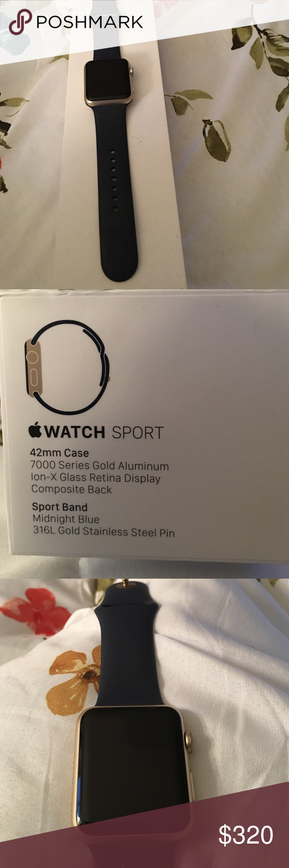 more photos 1329c 1960a Authentic Apple Watch💥💥 Apple Watch Sport 42mm case sport band ...