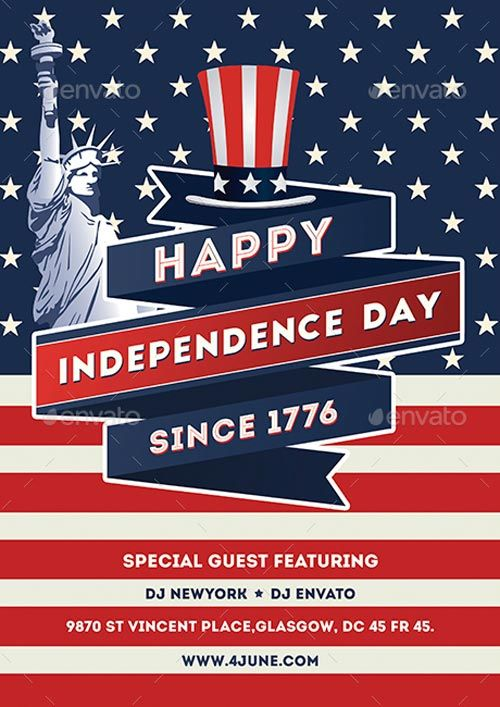 Independence Day Flyer Template - https\/\/ffflyer\/independence - independence day flyer